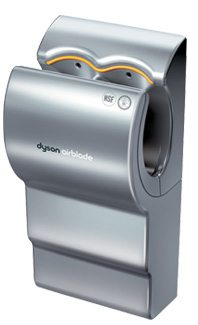 Dyson Air Blade hand dryer