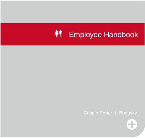 The Crispin Porter + Bogusky Employee Handbook | The Next Wave
