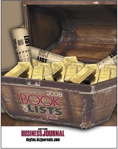 Cover of the Dayton Business Journal Book of Lists 2007