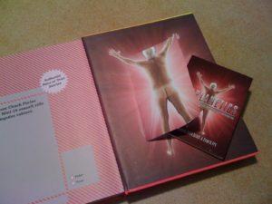 A secret book awaits inside the back cover