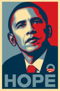 Hope Poster by Shepard Fairey