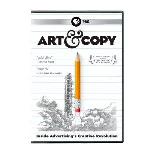 Cover of Art & Copy DVD
