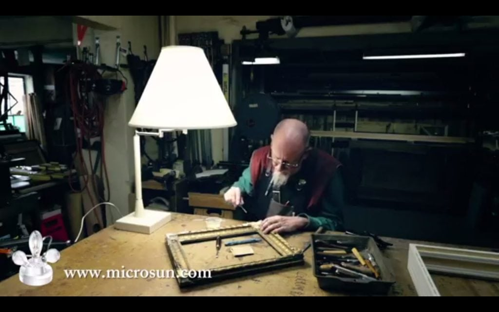 Microsun lamps and custom frame services