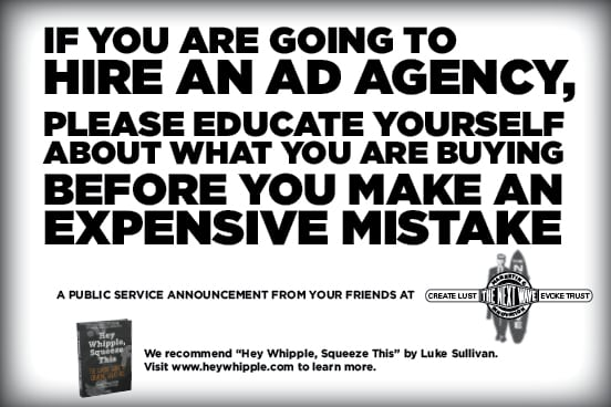 Before you hire an ad agency- educatate yourself