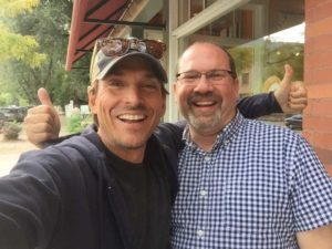 Alex Bogusky and David Esrati in Boulder