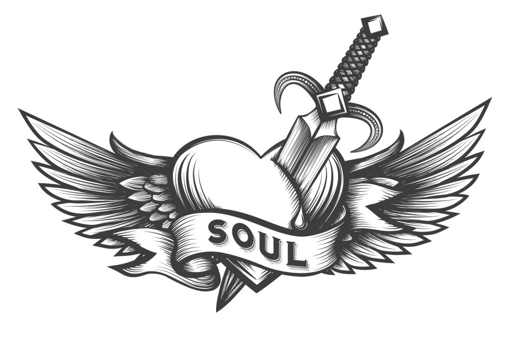 Soul stabbinbg logo. It's not a principle until it costs you money