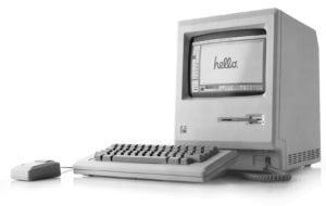 Apple 1984 mac Hello ad