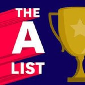 The A list Podcast Logo