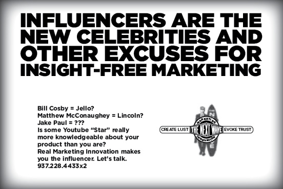 influencers celebrities and your brand