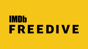 Amazon IMDB Freedive logo