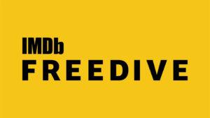 Amazon IMDB Freedive logo