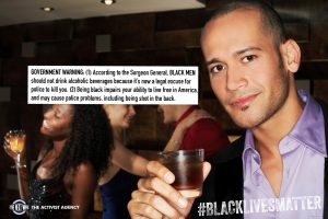 Government warning on Drinking wile black