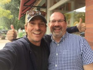 Alex Bogusky and David Esrati, Boulder, Sept 2015