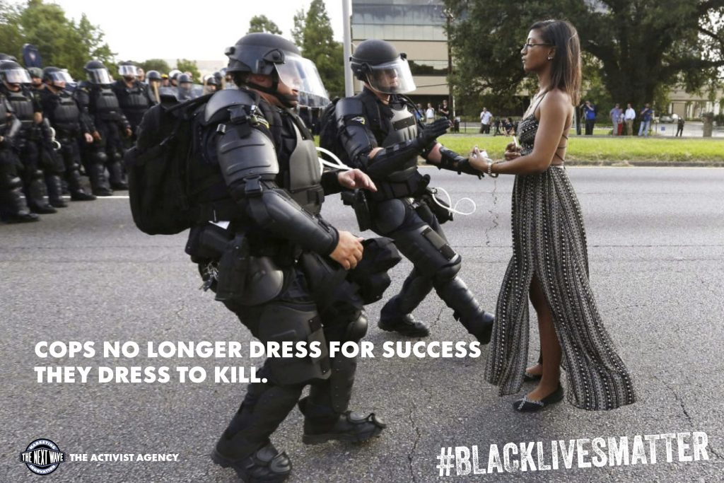 Cops no longer dress for sucess. They dress to kill