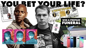 Dave Chappelle, Shepard Fairey, You Bet Your Life anti-covid campaign by The Next Wave Marketing Innovation