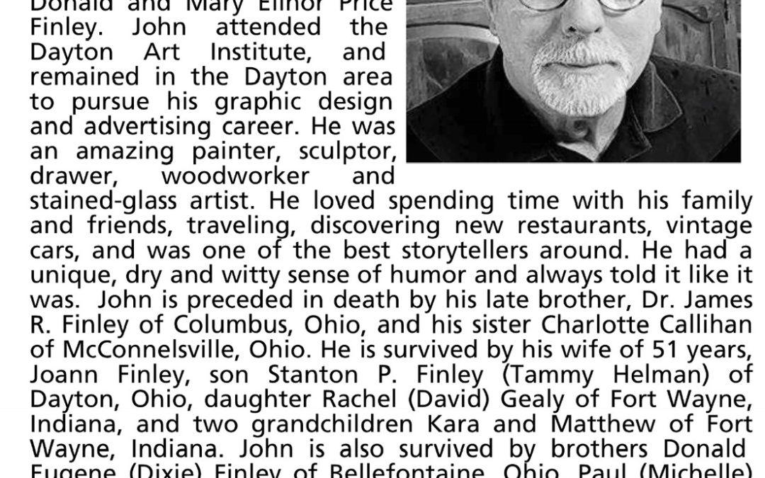 John Finley Obituary